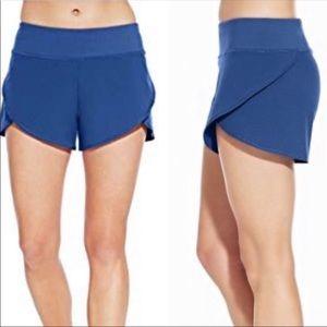 CALIA blue journey flutter shorts XS